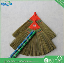 Guangxi low price Sorghum broom grass broom straw broom