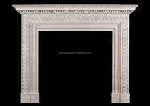 Luxury apartment inteior design natural stone carved gas technologies fireplaces