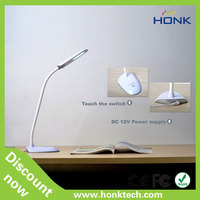 2014 new design 6-level touch led table lamp ,desk lamp for reading