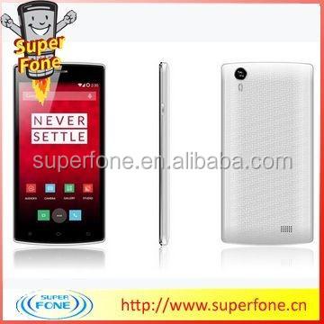 5.5 inch MTK6582m 1.3Ghz unlocked bar phone quad Core Andriod Smart Phone(A3)
