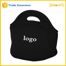 Wholesale Die Cut Shape Portable Insulated Kids Neoprene Lunch Bag With Custom Logo