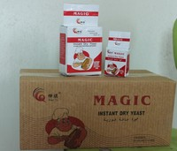 Magic yeast price per ton low sugar yeast instant dry yeast 500g for bread