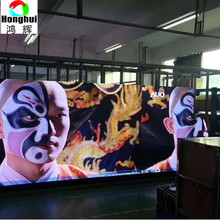 Indoor advertising replacement 4k tv led display screen stage background P3.91 led video wall