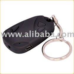 Car Key Remote Controller Camera Recorder All in One DVR With 640X480 Hi Resolution, 1280x960 JPG Snap Picture