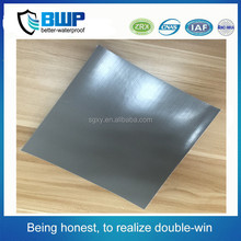 High quality roof materials 1.0mm PVC smooth waterproof sheet