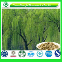 GMP Factory Supply High Quality 100% Natural Organic 15% Salicin White Willow Bark Extract