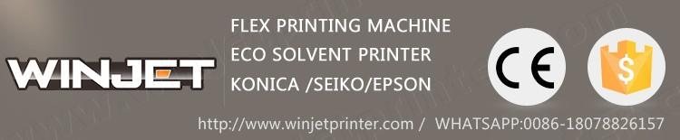 solvent flex printing machine 510-35pl head printer outdoor machine machine manufacturers