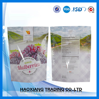 Laminated Material Zipper Pouch Packaging/Ziplock Stand Up Plastic Bag