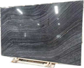 belgium black marble wood look marble floor tile