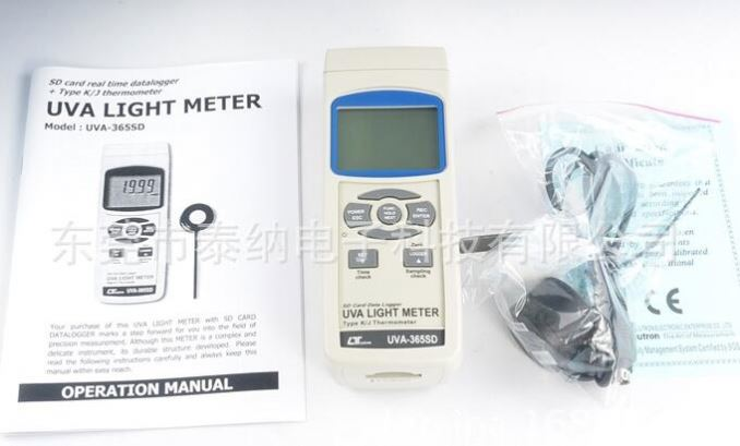 NEW LUTRON UV Light Meter/Radiometer UV intensity meter RS232 3 Ranges UVA-365SD