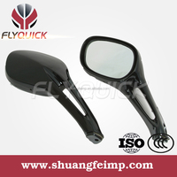 FLYQUICK ZF001-18 motorcycle rearview mirror plastic side mirror for HAOJUE UA150T HS125T