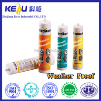 Mould-proof silicone sealant, one component rtv curing adhesive