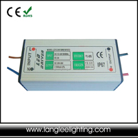 Waterproof 12-24V 50W 1500mA Constant Voltage LED Driver IP67