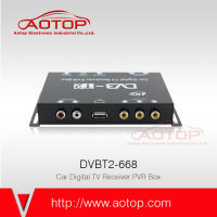 digital satellite receiver 2015 car dvb-t2 with HD, PVR Recording, HD1080P, Double Antenna, 120KM/H Speed