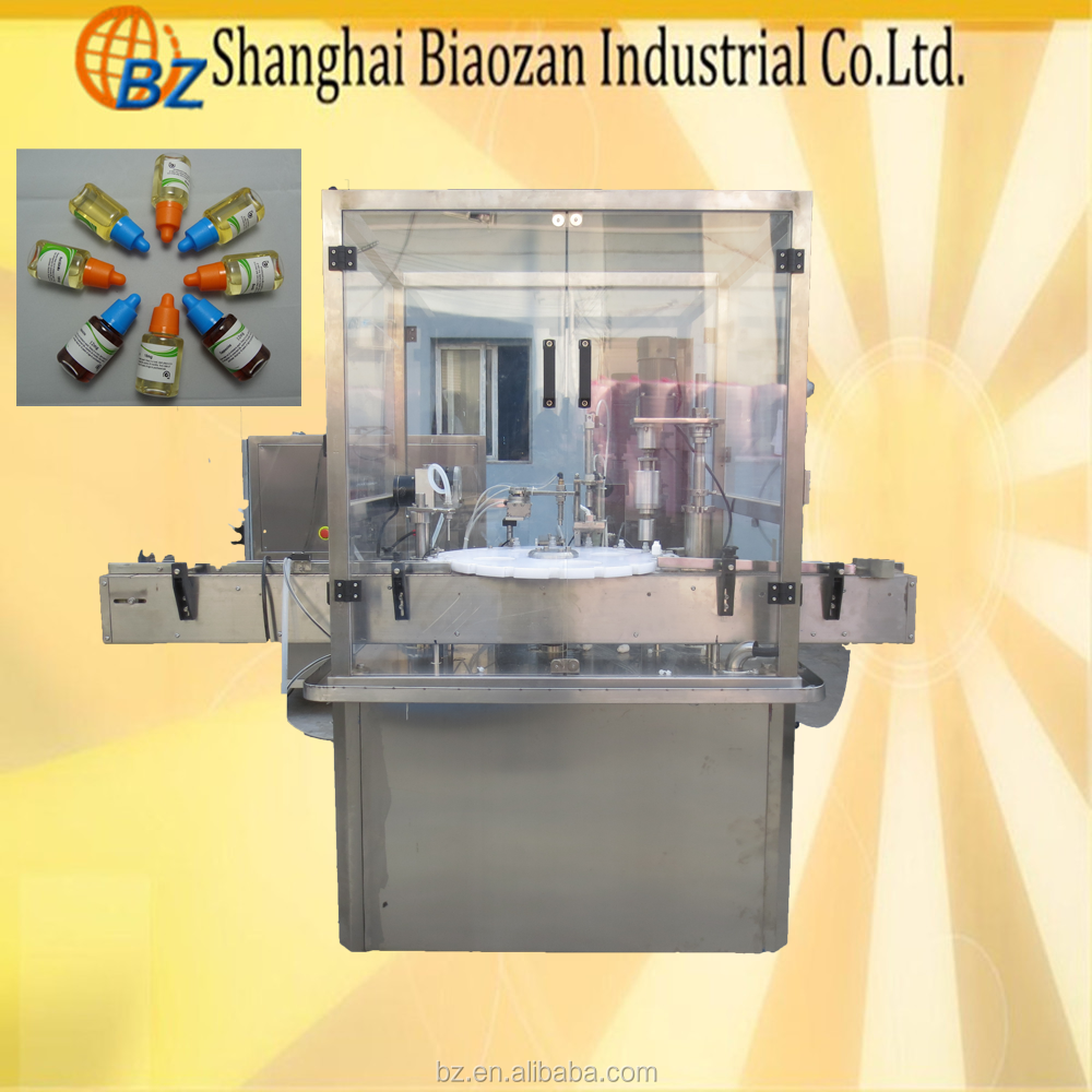 China Factory Price UV Gel Gel Nail Polish Filling Capping Machine