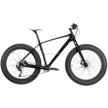 "Hot sale cruiser fat bike, High quality carbon fat bicycle,carbon fat bike with 26x4"" tyre"