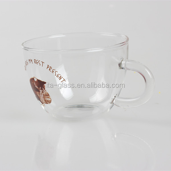 Double wall glass cup squirrel glass cup glass wine cup
