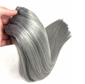 wholesale alibaba peruvian virgin hair straight gray hair weave grey human hair weaving