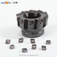 New Arrival R Radius Indexable 45 Degree Face Milling Cutter