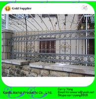 Modern Popular Wrought Iron High Security Fence