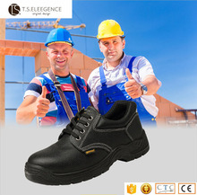 black steel toe and insole work land russia custom made forklift safety shoe en345 light weight shoes safety guangzhou for men