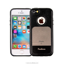 2017 Newest 3D Shine Leather Window TPU Phone Case for iPhone 5