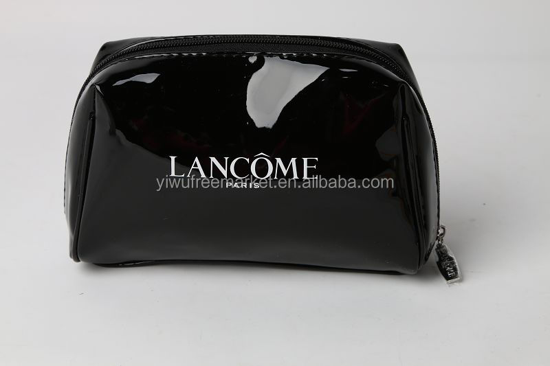 smooth PU cosmetic pouch fancy design high quality