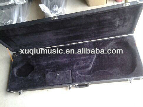 High Grade Wooden Leather Electric Guitar Case