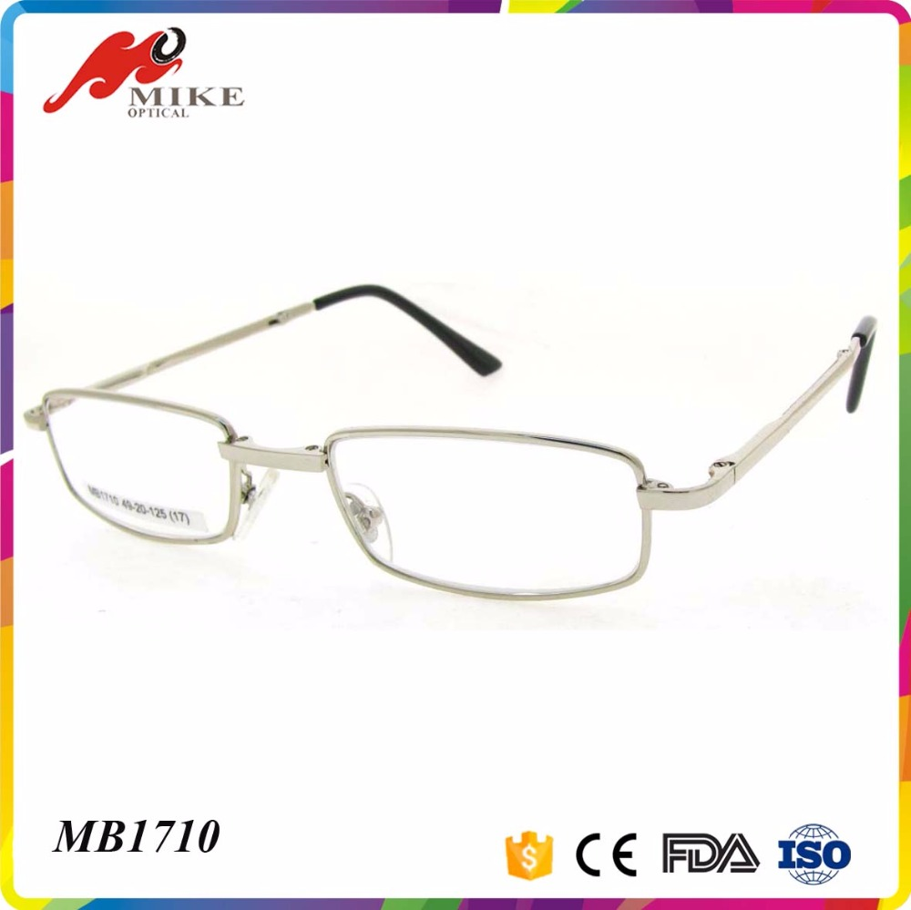 Metal gold folding reading glasses for man