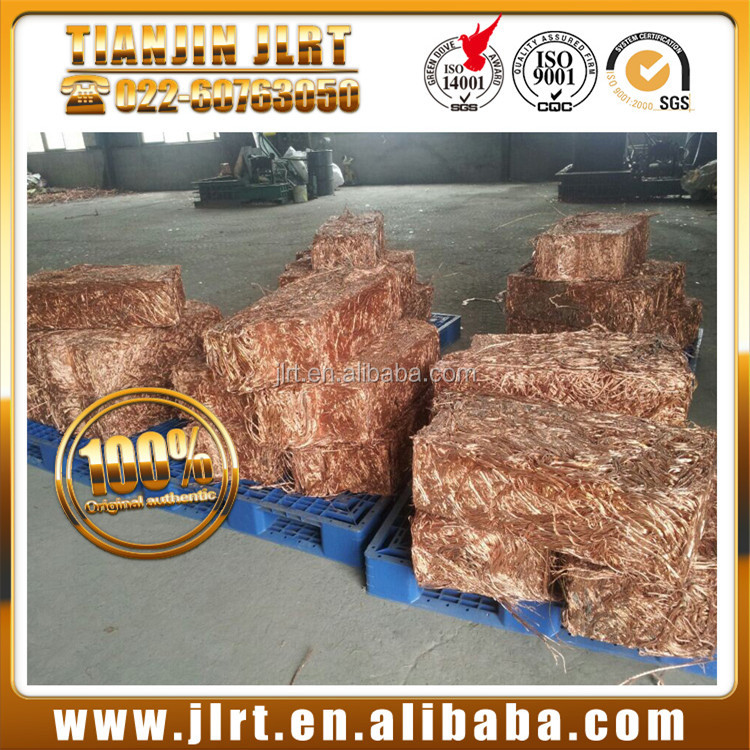 Hot sell high pure 99.99% bare metal cable wire millberry copper scrap