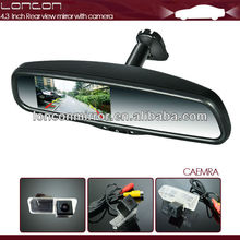 rearview mirror monitor with car camera special for Hyundai Fluidic Verna 2013