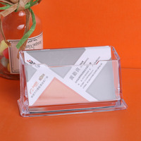 Best price factory sale plastic business name card holder