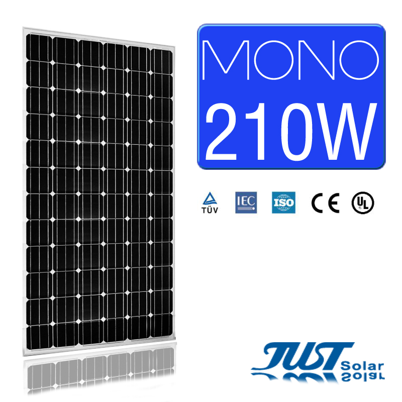 210W mono solar panel solar system just solar panels for India market