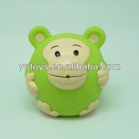 rubber monkey bath toy/floating bath toy/PVC toy