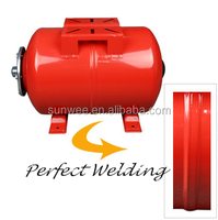 24L stainless steel horizontal water storage pressure expansion tank