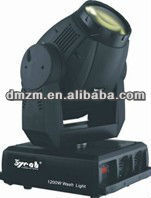 16 channel 1200W moving head light(WASH)/dmx power led/strobe lights