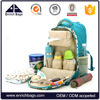 Amazon hot seller fashion backpack baby diaper bag