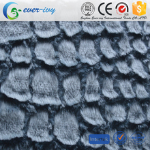best selling wholesale price 100% polyester plush pv with brushed