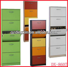 shoe cabinets furniture closed shoe rack(DX-8607)