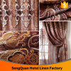 European gorgeous water-soluble jacquard stereo embroidery decorative high quality window curtain