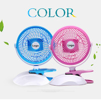 Hot-selling Summer Must-have 360 Degree Rotation Portable 6 inch Mini USB Fan
