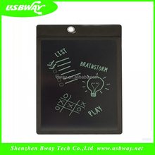 New 2017 promotion product lcd writing tablet drawing with 8.5 inch screen enamel writing board for kids at home and office