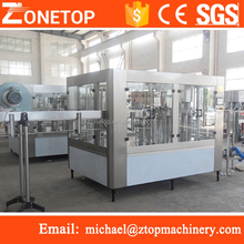 Fully automatic 3-1 rotary drinking pet plastic bottle mineral water manufacturing process
