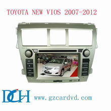 double din car dvd gps for TOYOTA NEW VIOS 2007-2012 WS-9127