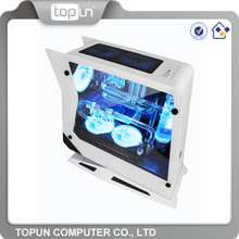 New elegant 12cm 14cm fan oem branded custom water cooling pc case cheap gaming computer cases