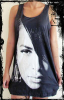Aaliyah Vest Tank-Top Singlet T-Shirt Tank Dress - Wholesale & Dropshipping