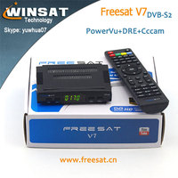 DVB-S2 Freesat V7 set top box Full 1080P hd satellite receiver no dish support wifi dongle