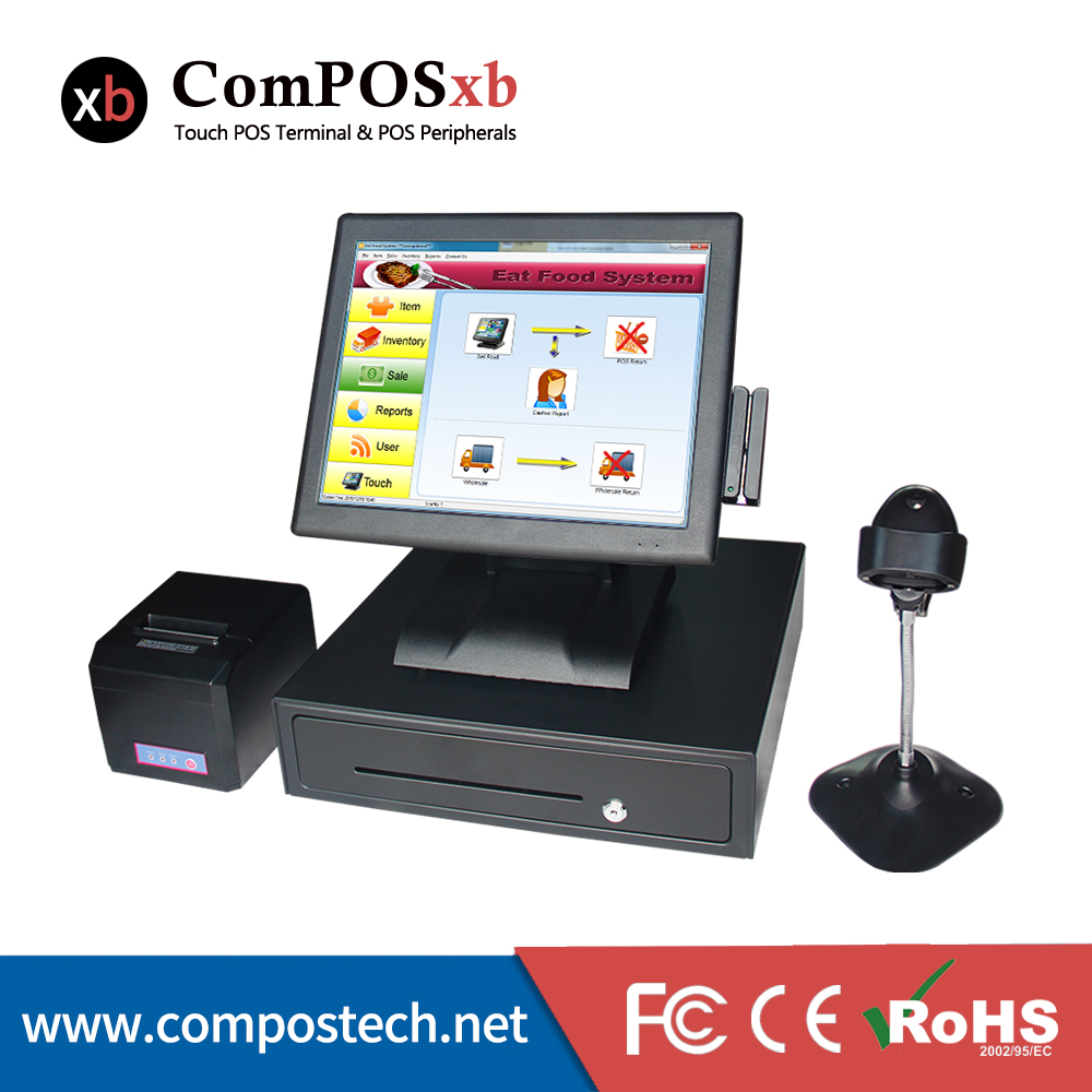 newest cheaper touch computer All in one Point Of Sale pos Terminal /POS System