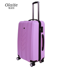High Quality ABS+PC Aluminum Frame Luggage Variety Color Choice Aluminum Metal Suitcase