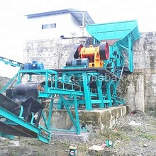 Engineered Mini Complete Aggregate Quarry Stone Jaw Crushing Crusher Machine Production Line Plant Price